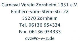 CVZ-Adresse